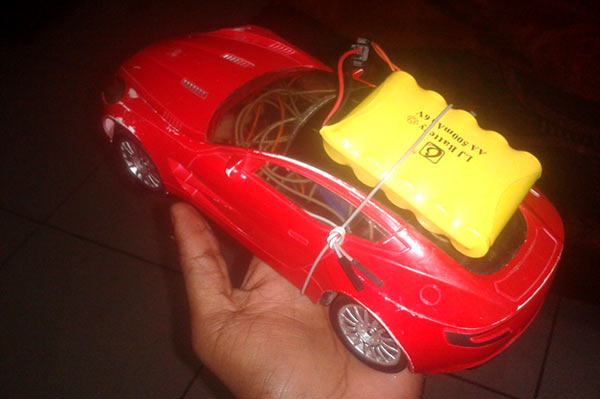 Bluetooth-controlled-car
