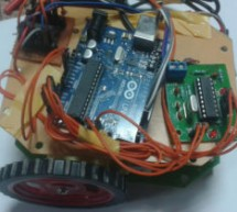 DTMF Controlled Robot using Arduino