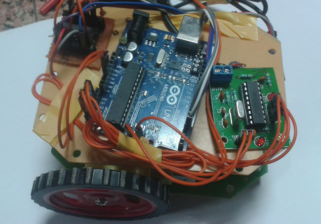 DTMF-Controlled-Robot