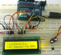 Magnetic Field Strength Measurement using Arduino