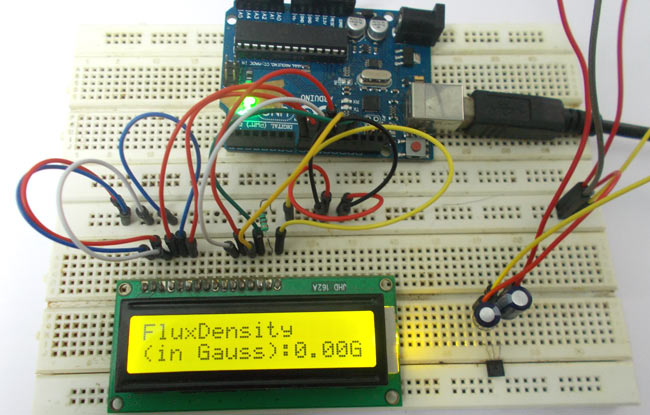 Magnetic Field Strength Measurement using Arduino -Use