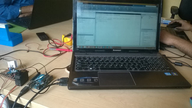 Servo-Control-with-MATLAB