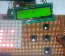 Snake Game on 8×8 Matrix using Arduino