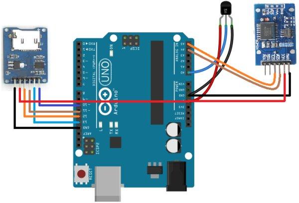 Arduino-Temperature-logger