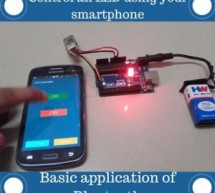 Bluetooth Basics: How to Control an LED Using a SmartPhone and Arduino