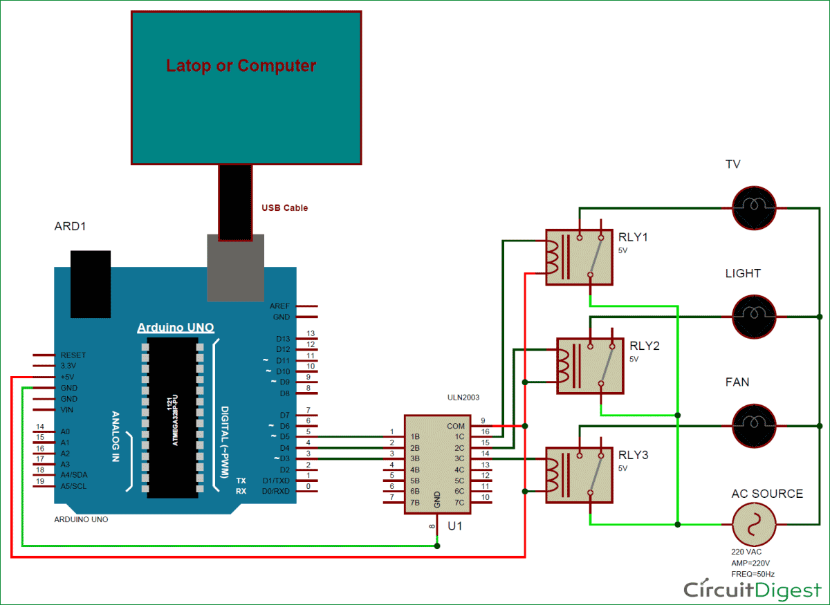 GUI-Home-Automation-using-MATLAB-arduino-Circuit-Diagram