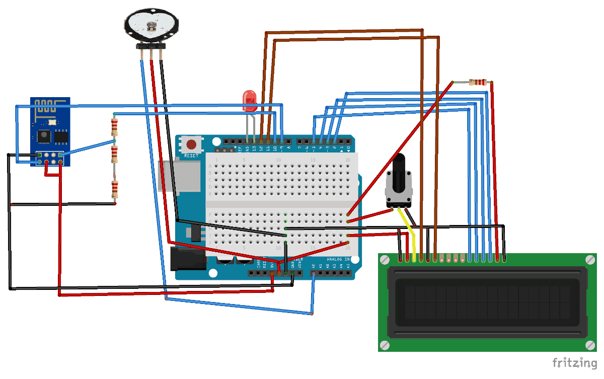 Heart Beat Monitoring Over Internet Using Arduino And Thingspeak Wiring Diagram Online