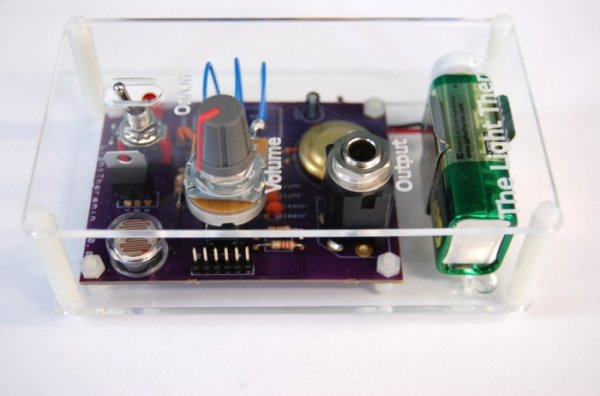 The Evolution of a Light Theremin
