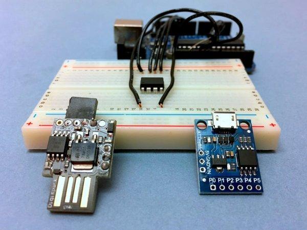 ATtiny85 for Simple Projects Arduino Basics