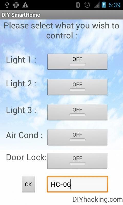 DIY Android Home Automation With Free Smartphone Application