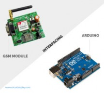 How to Interface GSM Module to Arduino-Send and Receive SMS