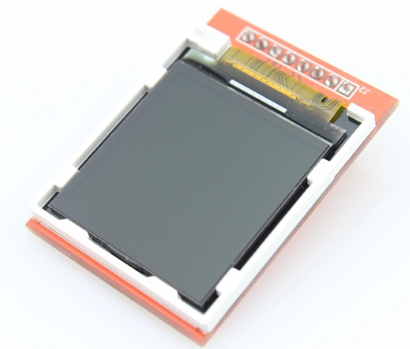 ILI9163-based TFT display (I am using one with 1.44″ size display from Elecrow).