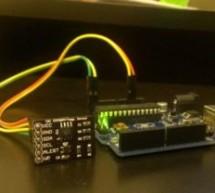 MCP9802 temperature sensor and Arduino