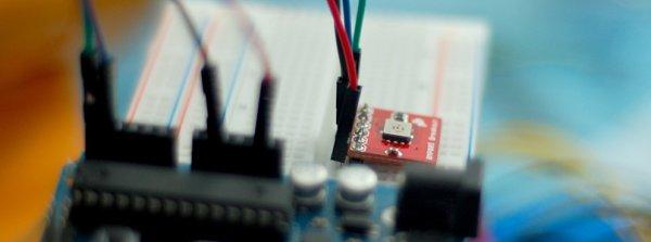 Sensing Barometric Pressure BMP085 + Arduino