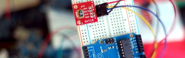 Sensing Humidity With The SHT15 + Arduino