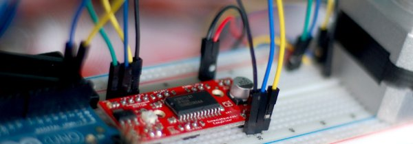 Use The EasyDriver Stepper Motor Driver + Arduino