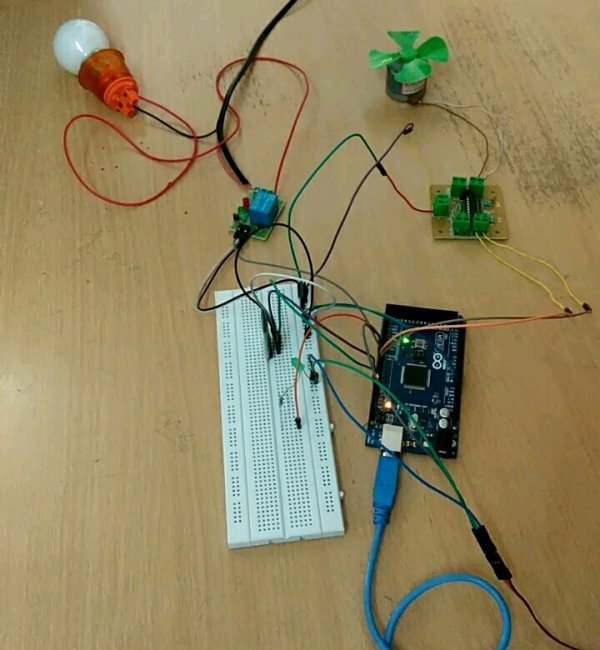 Voice controlled home automation using Arduino