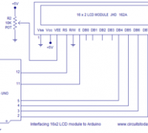 Interfacing LCD to Arduino – Display Text and Characters on LCD Screen using Arduino