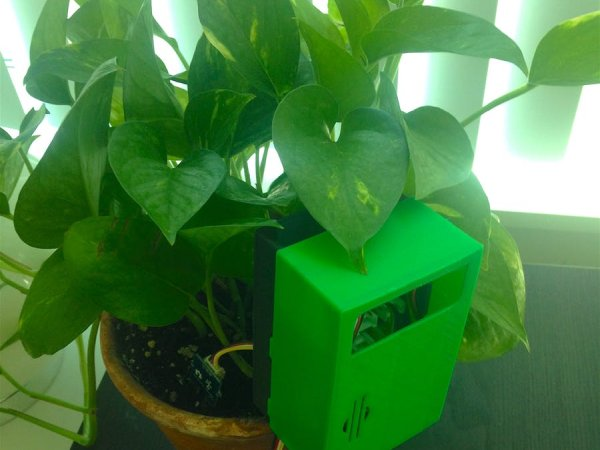 Plant Monitoring System using AWS IoT