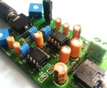 Audio Amplifier Circuit on PCB Using LM386