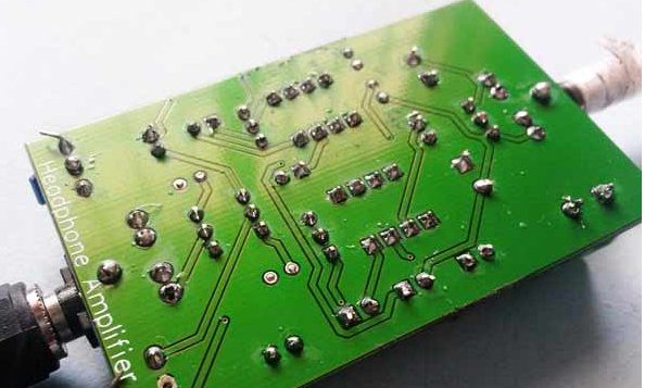 Figure 11 Audio Amplifier Board Ready
