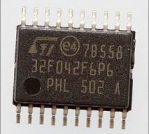 A development board for the STM32F042