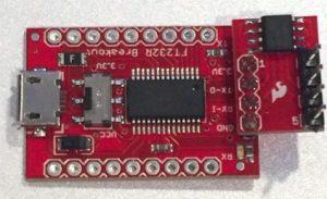 Isolated USB-to-UART converter