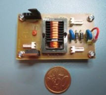 9V to 1kV DC/DC converter