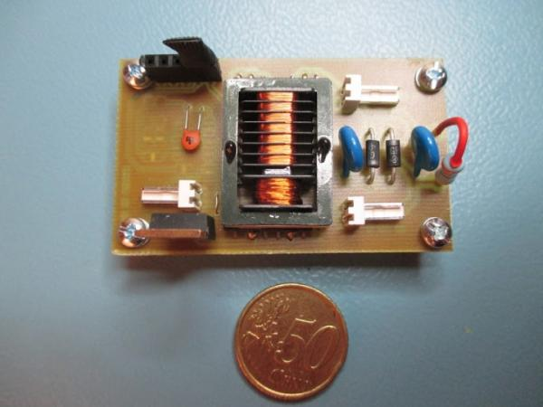 9V to 1kV DC DC converter