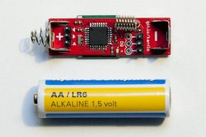 AAduino – Arduino Wireless in AA form factor