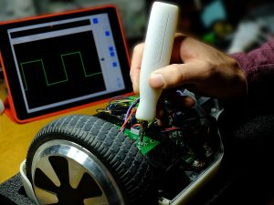 Aeroscope – a wireless oscilloscope