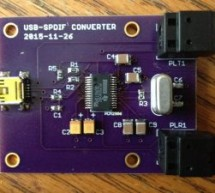 An S/PDIF Sound Card Using PCM2906
