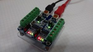 Dual USB Serial and I2C Converter