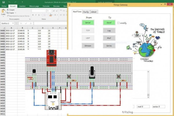 ESP8266 – Wireless Weather Station with Data Logging to Excel