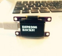 ESP8266: SSD1306 Oled Library Release