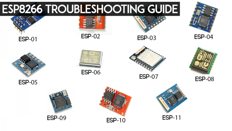 ESP8266 Troubleshooting Guide