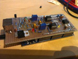 Homebrew Multimode Digital Voice Modem adapter