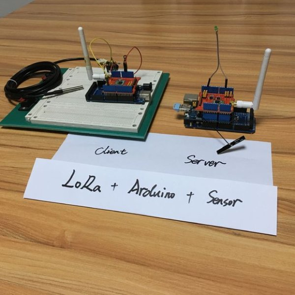How to get sensor data from a remote Arduino via Wireless Lora Protocol