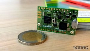 LoRaONE the LoRa® IoT development board