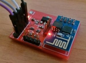 Memory upgrade for ESP8266