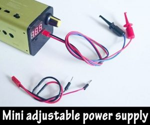 Portable Adjustable Mini Power supply