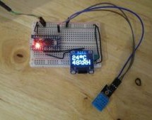 Quick Arduino Hygrometer with OLED display