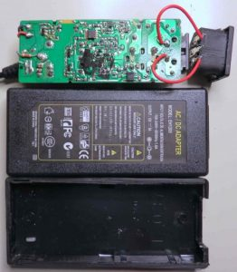 Teardown 12V AC adapters
