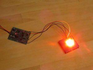 WiFiRGB – A WiFi-enabled RGB high-power LED