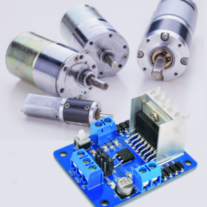 A DC Motor Controller with Control Leds