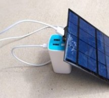 A very simple DIY solar-powered USB charger