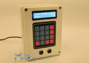 Alarm System Powered By Arduino