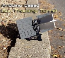 Arduino Based Sun Tracker Turret