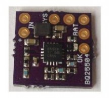 BQ25504 Solar Cell LiPo Charger