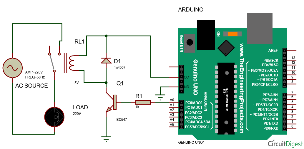 Arduino Relay Control Tutorial